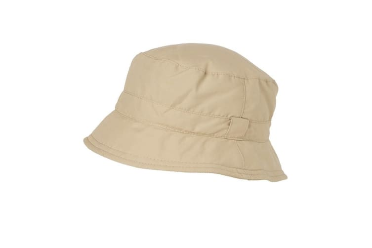 Myrtle Beach Adults Unisex Fisherman Function Hat (Khaki) (S/M)