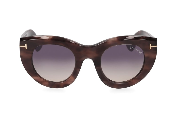 Tom Ford Women's Anna Sunglasses Eyewear UV Protection Coloured Havana/Smoke