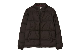 FatFace Womens/Ladies Sophie Puffer Coat (Black)