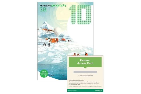 Pearson Geography 10 Student Book and Activity Book with Reader+