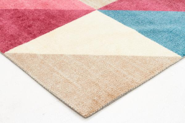 Stunning Matrix Rug Raspberry Blue 320x230cm