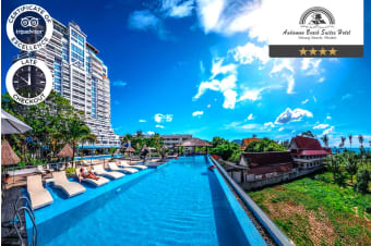 PHUKET: 5 or 7 Nights at Andaman Beach Suites Hotel for Two
