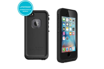 Black Lifeproof Fre Case Waterproof Shockproof Drop Cover for iPhone 5/5S/SE