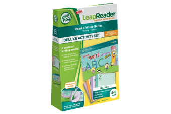 LeapFrog LeapReader Activity Set: Learn to Write Letters With Mr. Pencil