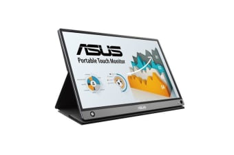 ASUS ZenScreen Touch MB16AMT portable monitor, 15.6-inch, IPS, Full HD, 10-point