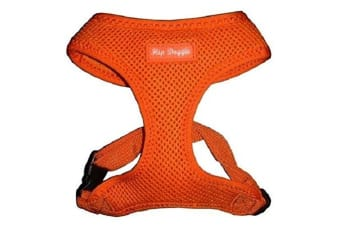 Hip Doggie Ultra Comfort Harness Vest (Orange)