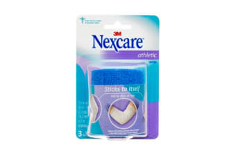 Nexcare Athletic Wrap Blue (Unstretched, 75mm x 2m)