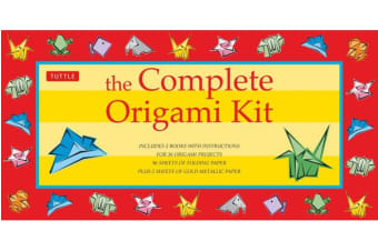 The Complete Origami Kit - Kit with 2 Origami How-to Books, 98 Papers, 30 Projects: This Easy Origami for Beginners Kit is Great for Both Kids and Adults