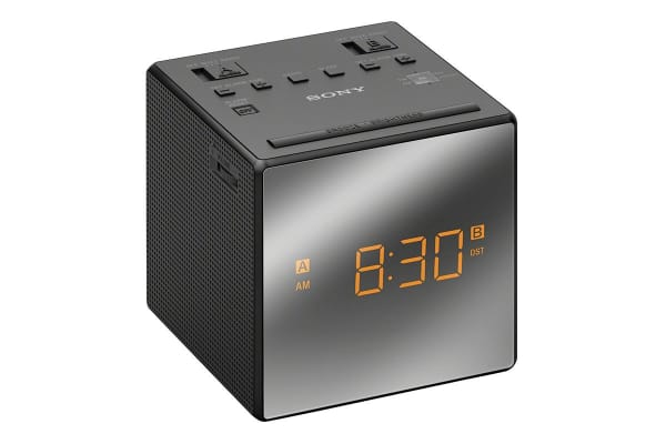 Sony Single Alarm Clock Radio - Black (ICFC1B)