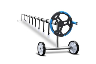 Stainless Steel Frame with Aluminium Pool Roller (Blue)