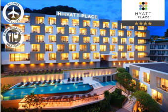 PHUKET: 8 Nights at Hyatt Place, Patong Including Flights for Two