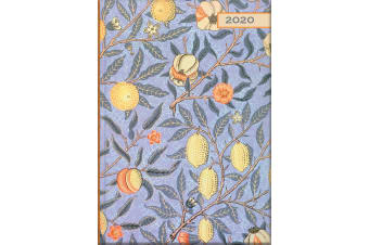 William Morris - Pomegranate - 2020 Diary Planner A5 Padded Cover