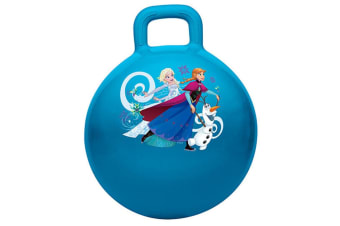 Disney Frozen Hopper Ball f/ Kids/Children Fun Bounce Outdoor Toy w/ Handle 4y+