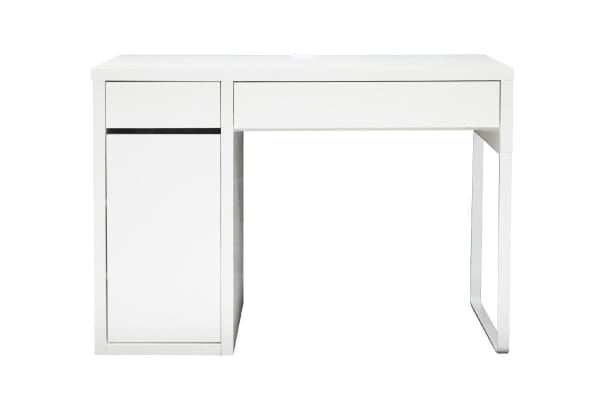 ovela spacesaving desk white