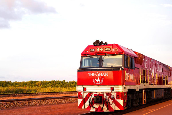 The Ghan – 5 Day Luxury Rail from Adelaide to Darwin Including Flights (Departing MEL, For Two)