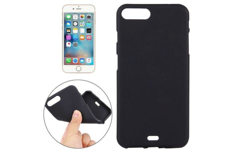 For iPhone 8 PLUS 7 PLUS Case Stylish Durable Grippy Protective Cover Black