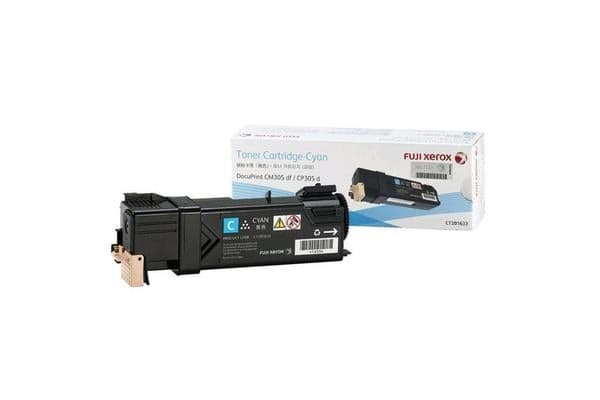 Fuji Xeorx Toner CT201633 Cyan(3000 pages) for Printer CP305