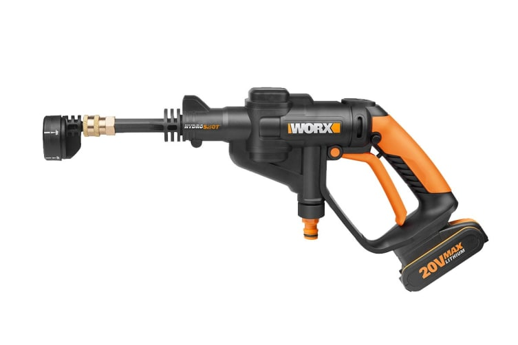 WORX 20V Hydroshot Portable Pressure Washer with MAX Battery and Charger (WG629E.1)