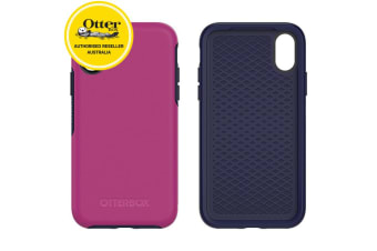 OtterBox Symmetry Case iPhone X Ultra Slim Tough Shockproof Cover Mix Berry Jam