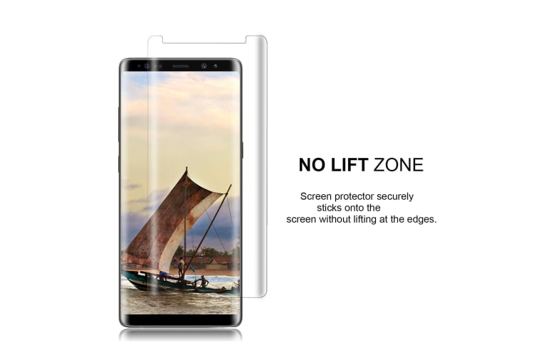 2-Pack For Samsung Galaxy Note 9 Screen Protector Full Curved Edge Protection