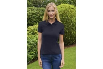 Casual Classic Womens/Ladies Polo (Navy)