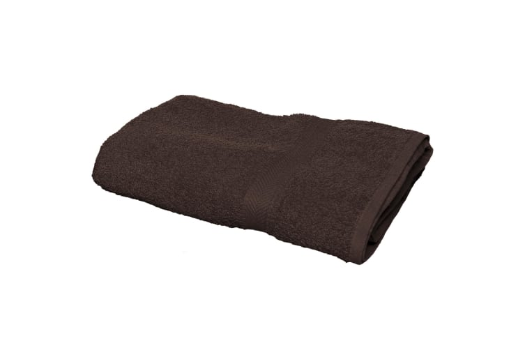 Towel City Luxury Range 550 GSM - Bath Sheet (100 X 150CM) (Chocolate) (One Size)