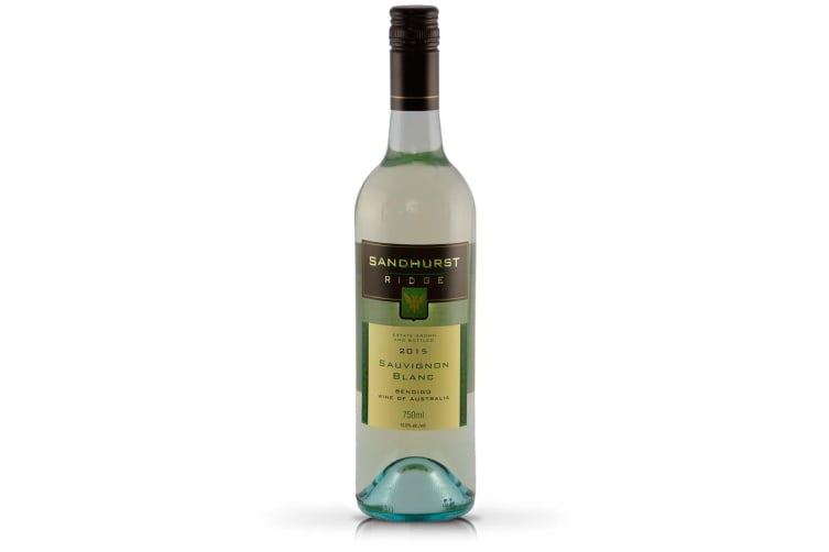 Sandhurst Ridge - Bendigo Sauvignon Blanc - 2015 (6 Bottle Case)