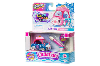 Shopkins Cutie Cars Color Change - Puff Rusher