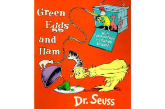 Green Eggs and Ham - With Fabulous Flaps and Peel-off Stickers