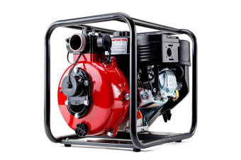 Warton 8HP 1.5 Inch & 2 Inch Petrol High Pressure Water Transfer Pump Irrigation Fire Fighting