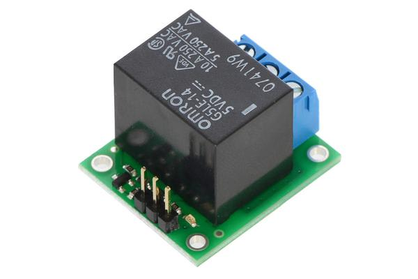 Pololu Basic SPDT Relay Carrier with 5VDC Relay (Partial Kit)