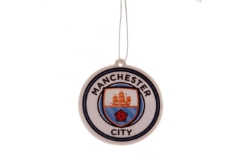 Manchester City FC Air Freshener (White) (One Size)