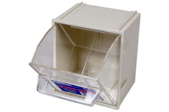 Small Visi Pak Storage Drawer With Clips - Fischer Plastic
