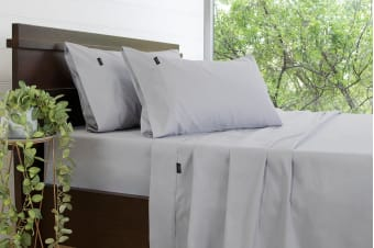 Ardor Gold Label 3000TC Sheet Set (King, Silver)