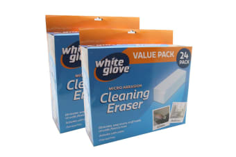48PK White Glove Cleaning Eraser Magic Sponges Cleaner Marks/Stain Remover