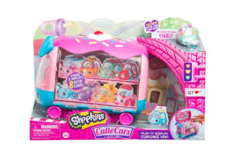 Cutie Cars Shopkins Play-n-Display Collector'S Van