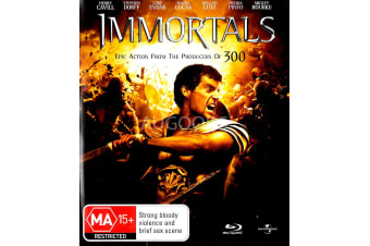 Immortals - Rare- Aus Stock Blu-Ray PREOWNED: DISC LIKE NEW