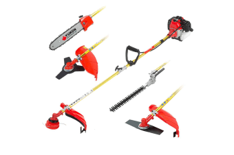 Yukon 5-in-1 Petrol Garden Trimmer Whipper Snipper Brush Cutter