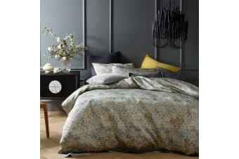 Nim Jacquard Quilt Cover Set by Accessorize