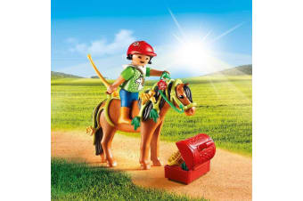 Playmobil Country Groomer with Bloom Pony