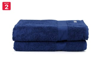 Onkaparinga Ultimate 100% Turkish Cotton Bath Sheet Set of 2 (Midnight)