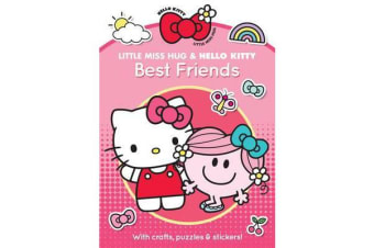 Little Miss Hug and Hello Kitty Best Friends
