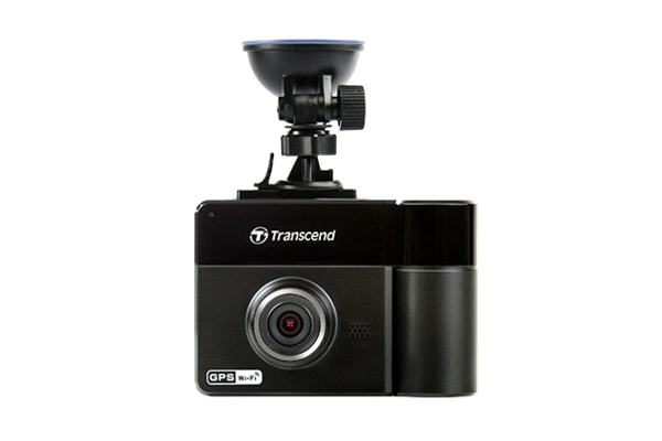 Transcend DrivePro 520 Dual Lens Dash Cam with GPS, Wi-Fi and FREE 32GB MLC Memory Card (TS32GDP520M)