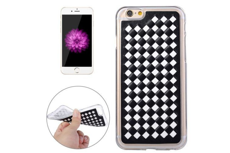 competitive price bd310 fb160 For iPhone 6S 6 Case Stylish Durable Knit Pattern Protective Cover White
