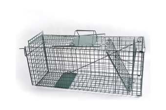 Humane Live Animal Trap Possum Rat Rabbit Hare Catcher Folding Cage