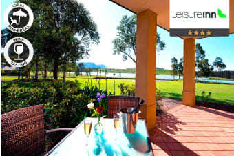 HUNTER VALLEY: 2 or 3 Nights Stay at Leisure Inn Pokolbin Hill for Two