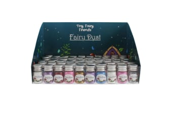 Something Different Fairy Dust Bottles (Box Of 60) (Multicoloured) (One Size)