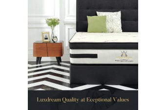 Luxdream Latex Foam Mattress 7 Zone Eurotop Pocket Spring 32cm - Single Double King Queen