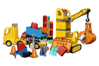 LEGO DUPLO Big Construction Site (10813)