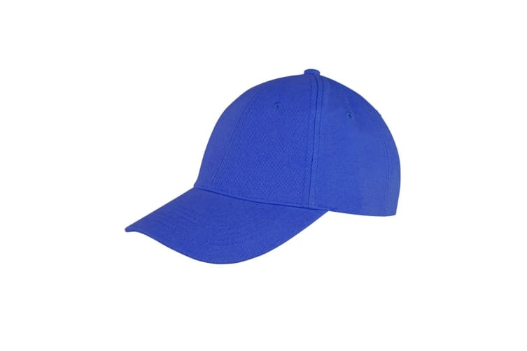 Result Unisex Core Memphis 6 Panel Baseball Cap (Pack of 2) (Royal) (One Size)